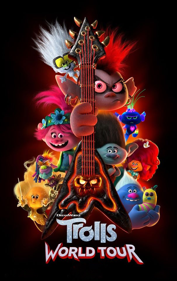 Trolls World Tour [2020] [DVDR] [NTSC] [Latino]