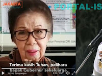 MENGHARUKAN... Terimakasih Tuhan, pelihara bapak Gubernur sekeluarga dan beri kekuatan memimpin Jakarta