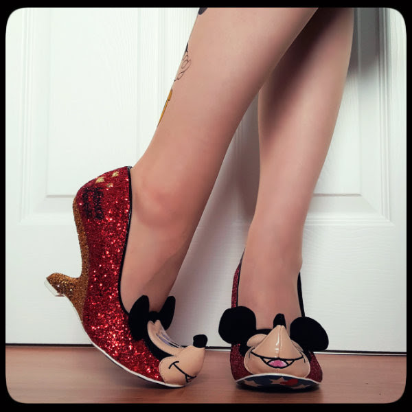 oh boy mickey mouse shoes