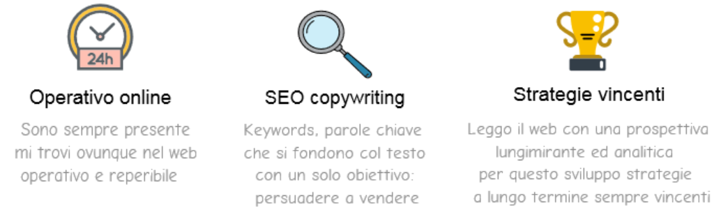 seo copywriting blogging serivi web online
