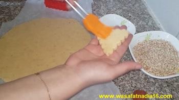 حلويات العيد لام وليد |طريقة تحضير مثلثات الكوكاو
