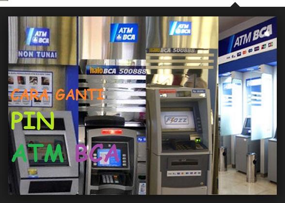 Cara Benar Mengganti PIN ATM BCA Langsung Di Mesin ATM