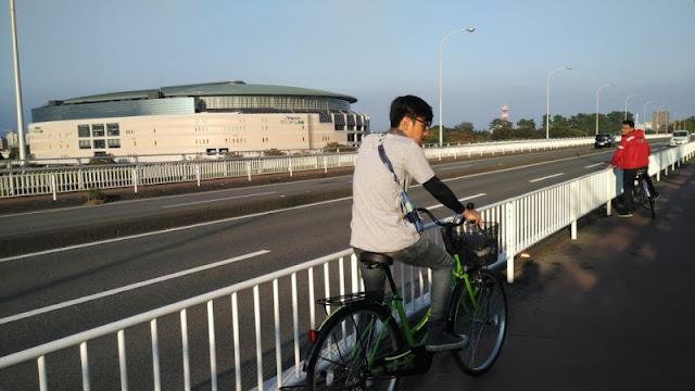Sepeda Jepangku dirantai