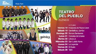 teatro del pueblo feria tamaulipas 2019