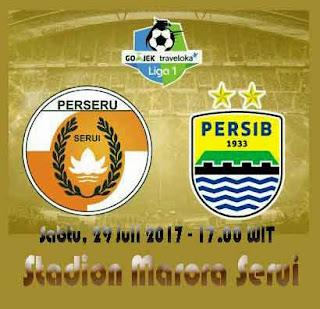 Persib vs Perseru