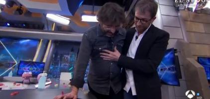 La cataplexia le vuelve a jugar una mala pasada a Jordi Évole