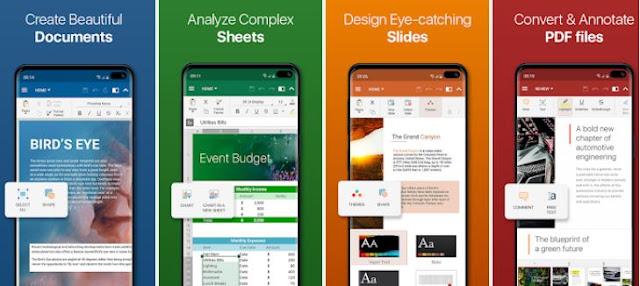 OfficeSuite أفضل البرامج المكتبية للجوال