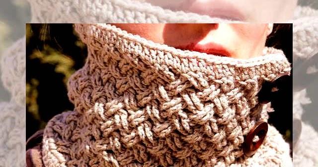 Aprende a Tejer Cuello Punto Celta / Video Tutorial   Crochet y Dos ...