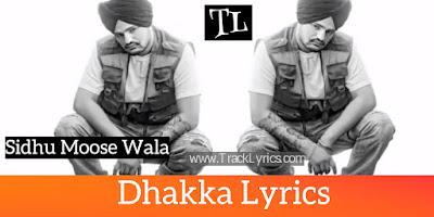 dhakka-lyrics-sidhu-moose-wala
