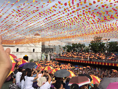 Taken during the Sinulog Novena Mass 2016 at Basilica del Santo Niño