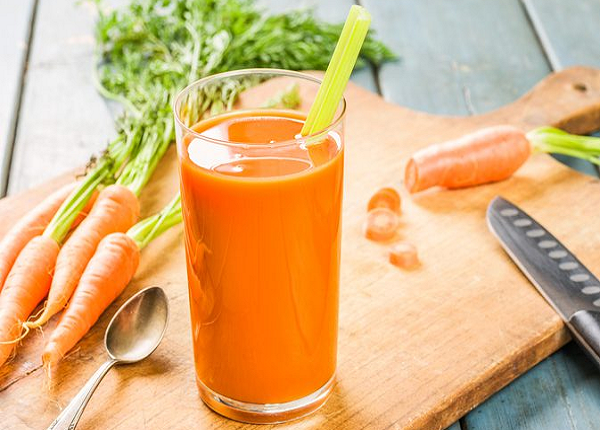 Benefits of carrot juice for