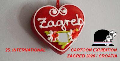25 INTERNATIONAL CARTOON EXHIBITION ZAGREB 2020