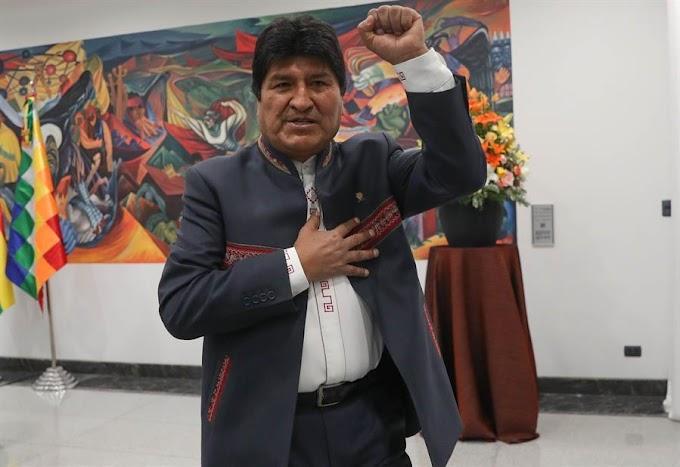 Evo Morales pediu e México concedeu asilo, informa chanceler