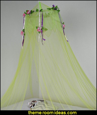 Flower Top Around Bed Canopy Mosquito Net for Bed, Dressing Room  Bed canopy -  Bed Canopies - Bed Crown - Mosquito Netting - Bed Tents - Canopy Beds - Post Bed Canopies - Luxury Canopy netting   - girls bed canopy - Bed Curtains - Curtain Canopy - Canopy Play Tent - Princess canopy - moon stars canopy -