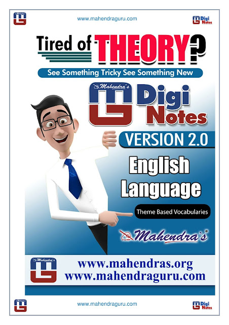 Digi Notes - 2.0  | Download Free PDF Of Theme Based Vocabularies For IBPS PO | 21.09.2017