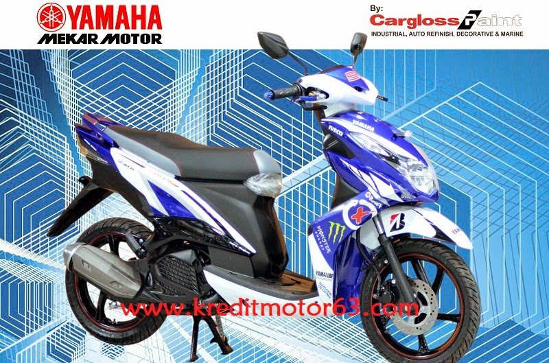 Kredit Motor Modifikasi Yamaha Xeon RC Custom