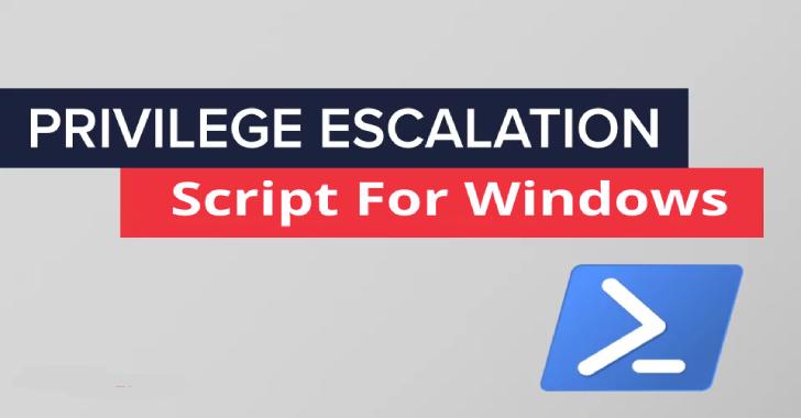PrivescCheck : Privilege Escalation Enumeration Script for Windows