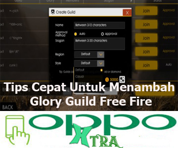 Tips Cepat Untuk Menambah Glory Guild Free Fire