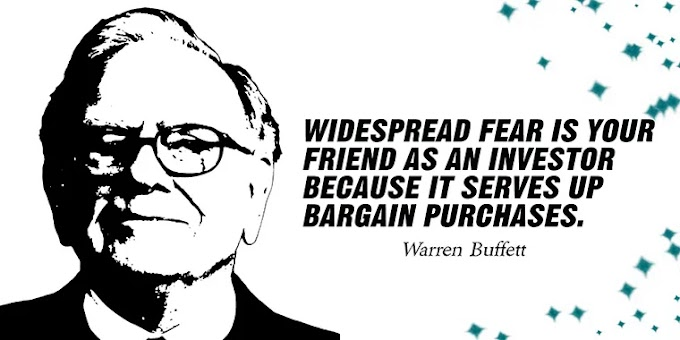 Warren Buffett is the best investor in the world ... He started with $ 100 to become the third richest man in the world