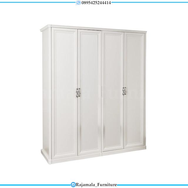 Jual Lemari Pakaian Minimalis Putih Duco Modern Style RM-0303