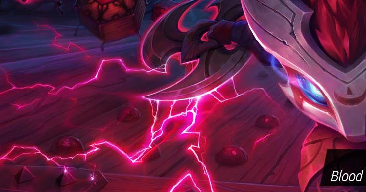 Surrender at 20: 2/17 PBE Update: Blood Moon Kennen splash art