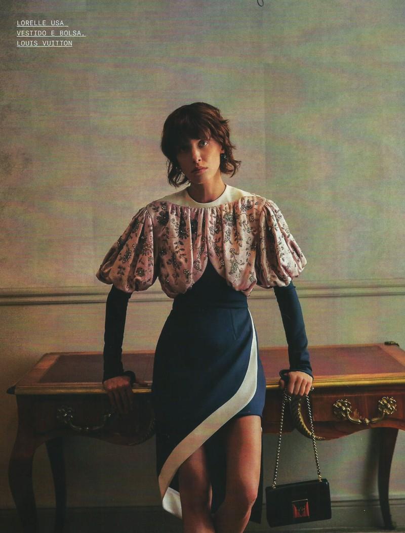 Editorial de moda Louis Vuitton em Paris