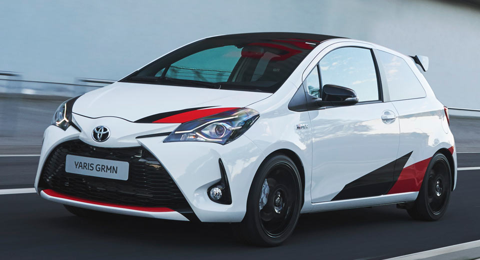 Toyota Yaris Grmn Boasts 209 Hp 6 3 Sec 0 62 Time And A 30k Sticker