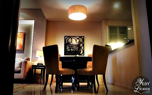 Dining Area at Oakwood Manila