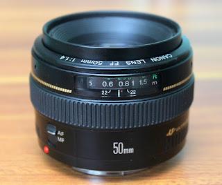 Lensa Canon 50mm f1.4 USM