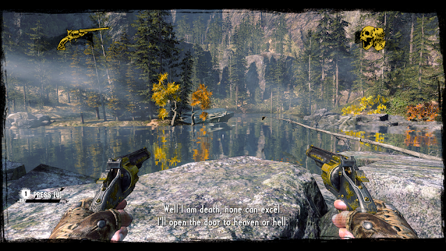 A really pretty visual from the game Call of Juarez: Gunslinger