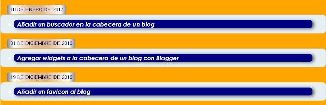 CSS Solo título de entradas (etiquetas)