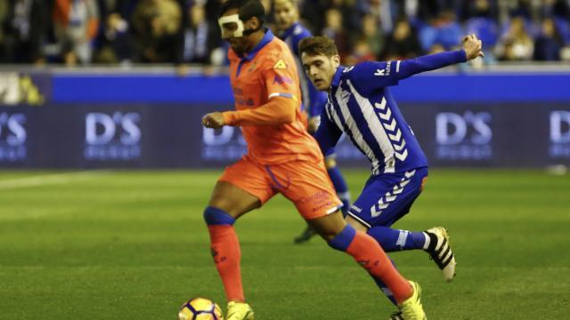 Michel Macedo el hombre máscara de la Unión Deportiva