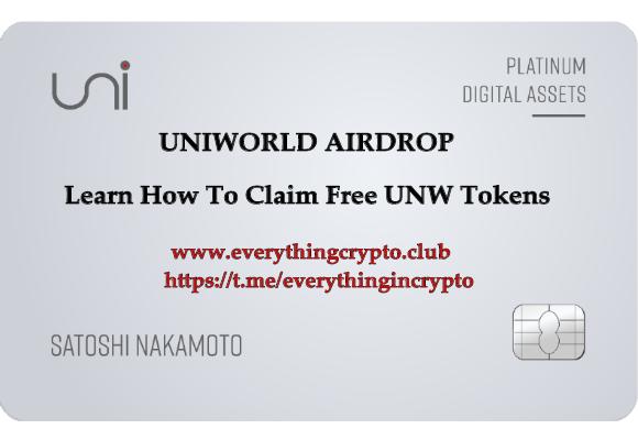 Uniworld airdrop