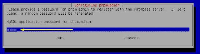 password phpmyadmin