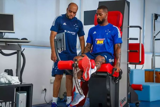 Zagueiro Dedé: jogador pode passar por nova cirurgia no joelho