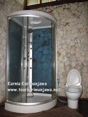 kamar mandi hotel suite nirwana resort