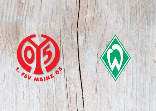 Mainz 05 vs Werder Bremen - Highlights 04 November 2018
