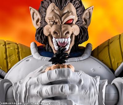 S.H.Figuarts Ozaru Vegeta de Dragon Ball Z - Tamashii Nations