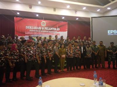 Laskar Merah Putih Indonesia (LMPI) Lampung Resmi Dilantik