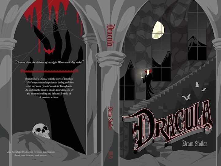 Capa de livro para o conde drácula