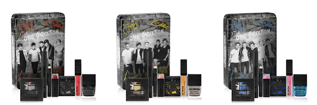 Makeup by One Direction Collection Review Midnight Memories Take Me Home Up All Night
