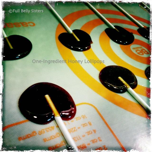 how to make honey lollipops