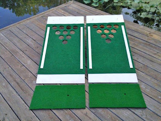 Juego para beber: Beer Pong Golf