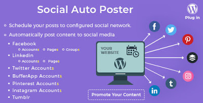 Free Download Social Auto Poster WP Plugin v3.8.2
