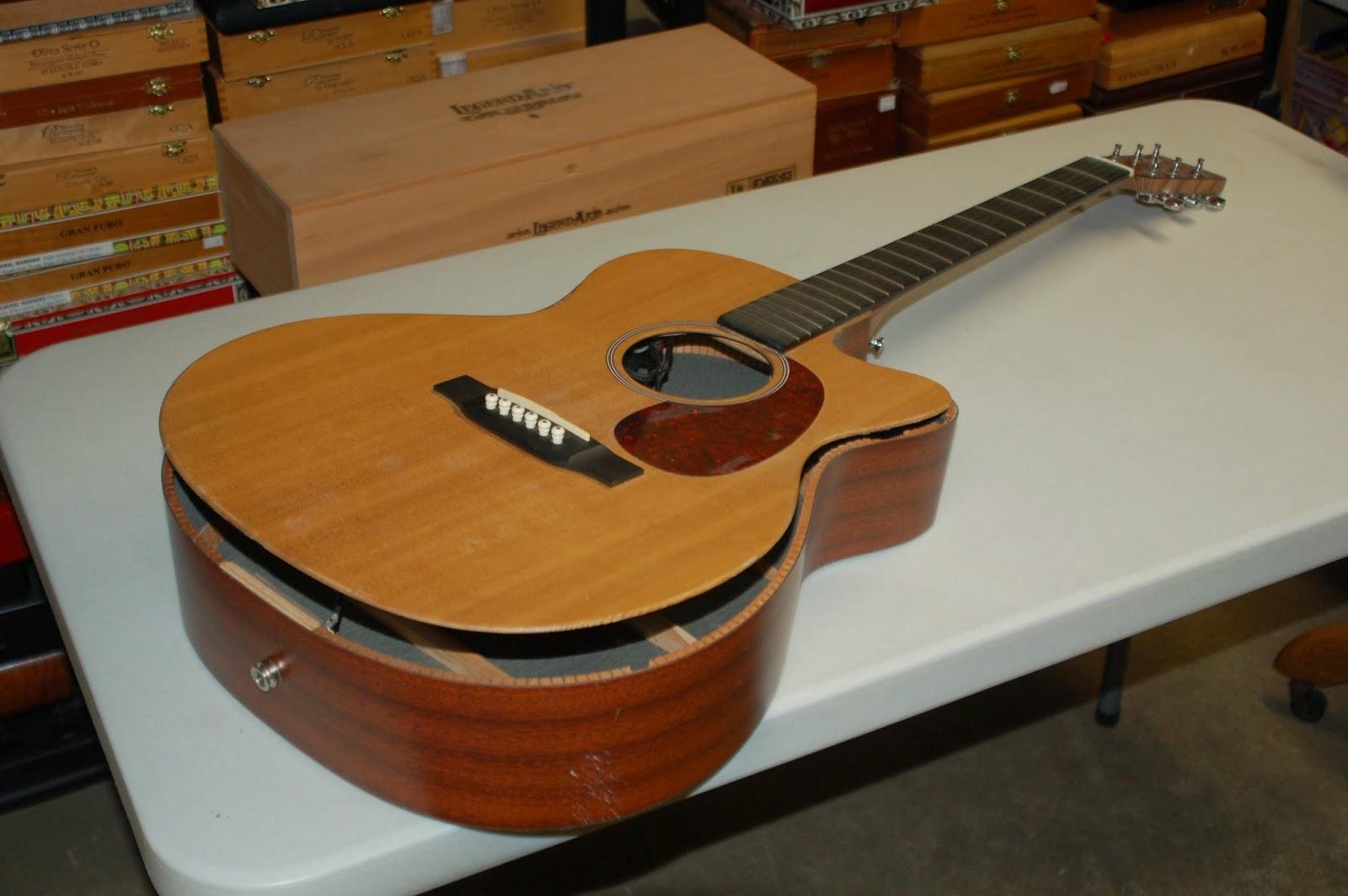 Totalrojo Guitars Guitar Repair Before And After