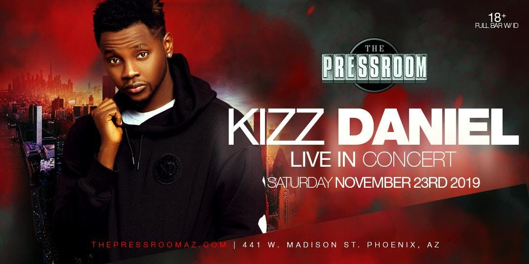 Kiss Daniel To Hold First Time Ever Live in Concert in Arizona