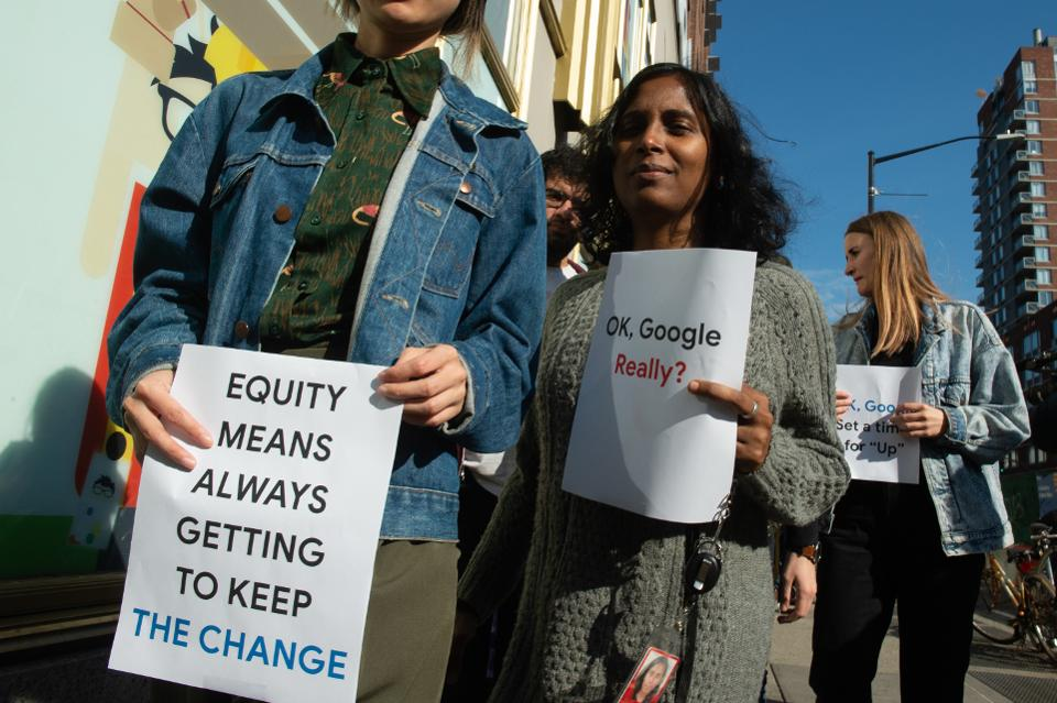 After A Tumultuous Year, Google Workers And Investors Plan To Press For Change At Shareholders Meeting.....