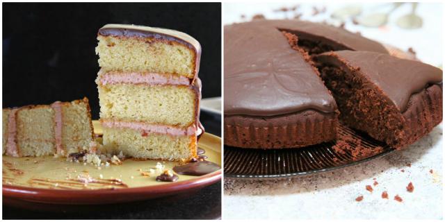 Homemade gluten free cake