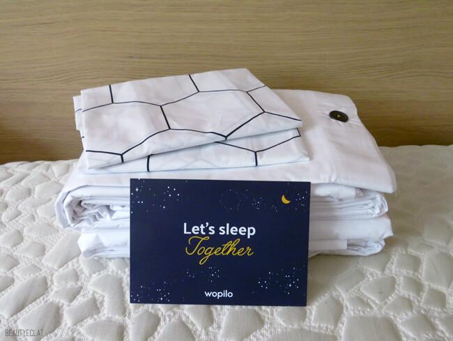 wopilo linge de lit qualité