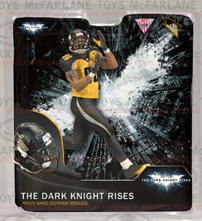 McFarlane NFL The Dark Knight Rises Gotham City Hines Ward